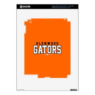 Glenwood High School; Gators Skins For iPad 3