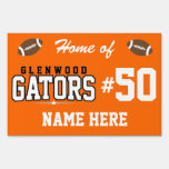 Glenwood High School; Gators Yard Sign