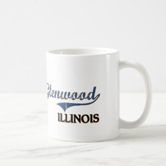 Glenwood Illinois City Classic Classic White Coffee Mug