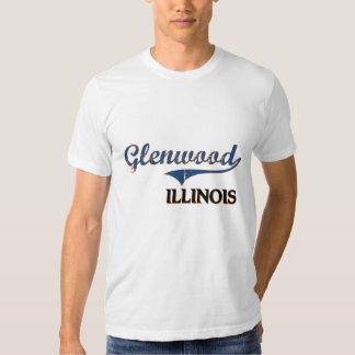Glenwood Illinois City Classic T-shirts