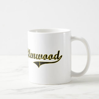 Glenwood Iowa Classic Design Classic White Coffee Mug