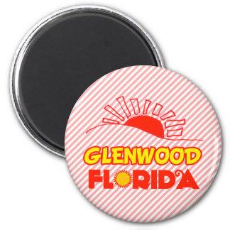 Glenwood, la Florida Imán Redondo 5 Cm