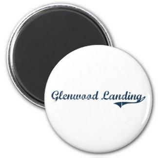 Glenwood Landing New York Classic Design Fridge Magnet