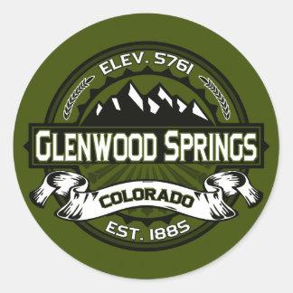 Glenwood Olive Stickers