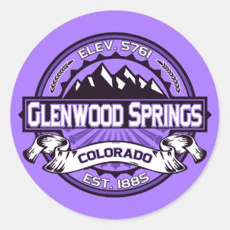 Glenwood Purple Sticker