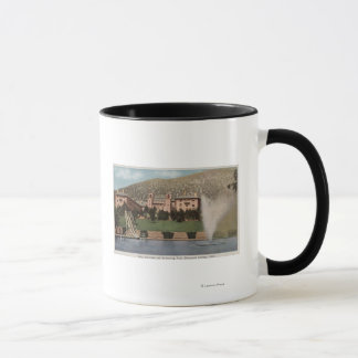 Glenwood Springs, CO - View of Hotel CO & Pool Mug