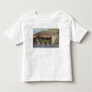 Glenwood Springs, CO - View of Hotel CO & Pool Toddler T-shirt