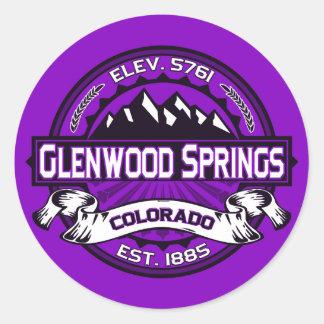 Glenwood Springs Color Sticker