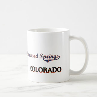 Glenwood Springs Colorado City Classic Classic White Coffee Mug