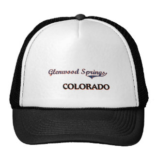 Glenwood Springs Colorado City Classic Hats