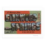 Glenwood Springs, Colorado - escenas grandes 2 de  Tarjeta Postal