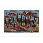Glenwood Springs, Colorado - escenas grandes de la Tarjetas Postales
