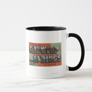 Glenwood Springs, Colorado - Large Letter Scenes 2 Mug