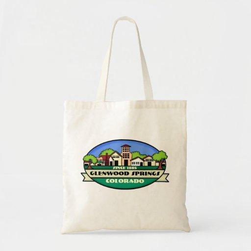Glenwood Springs Colorado small town reusable bag