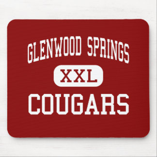 Glenwood Springs - Cougars - Glenwood Springs Mouse Pads