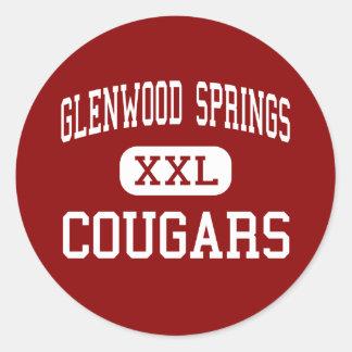Glenwood Springs - Cougars - Glenwood Springs Stickers