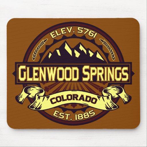 Glenwood Springs Mousepad vibrante