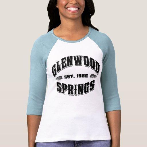 Glenwood Springs Old Style Lights T Shirts