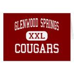 Glenwood Springs - pumas - Glenwood Springs Tarjeta