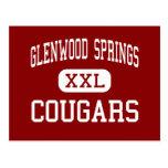 Glenwood Springs - pumas - Glenwood Springs Tarjetas Postales
