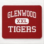Glenwood - tigres - High School secundaria - nueva Alfombrillas De Ratones
