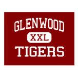 Glenwood - tigres - High School secundaria - nueva Tarjetas Postales