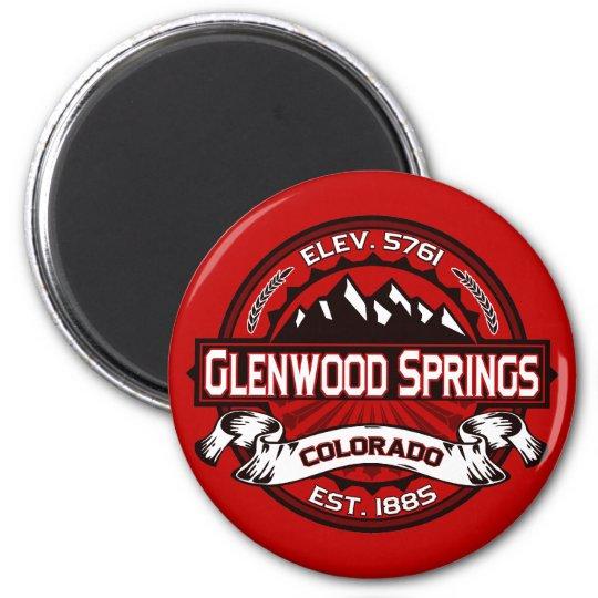 Glenwood Tile Red Magnet