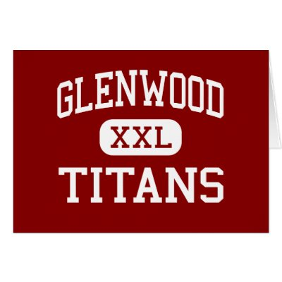Show your support for the Glenwood High School Titans while looking sharp.