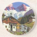 Gletcherwelt, Suiza Posavasos Diseño