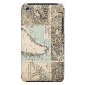 Gletscherkarte - Glacier Atlas Map iPod Case-Mate Case