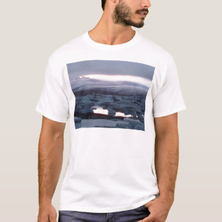 Gletscherlagune Island T-Shirt