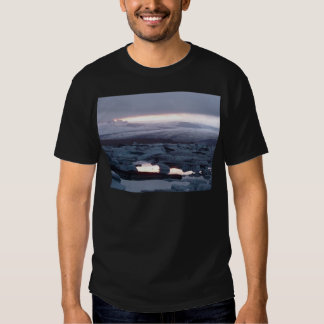 Gletscherlagune Island T Shirt