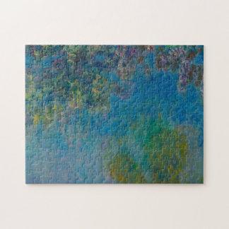 Glicinias de Claude Monet Rompecabeza