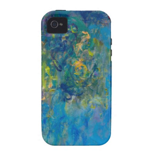 Glicinias de Monet Case-Mate iPhone 4 Funda