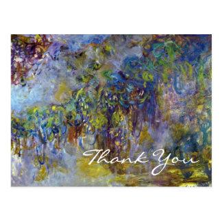 Glicinias de Monet impresionismo floral del vinta
