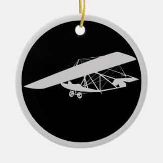 Glider Ceramic Ornament