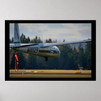 Glider Landing Posters