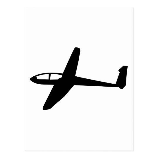 Glider Postcard
