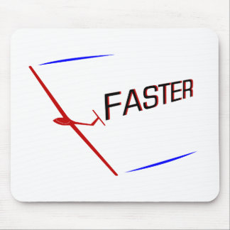 Glider Racing ... FASTER Mouse Pad