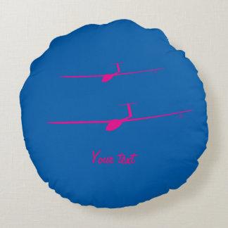 Glider Round Pillow