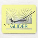 Glider Sailplane Aircraft Mousepad