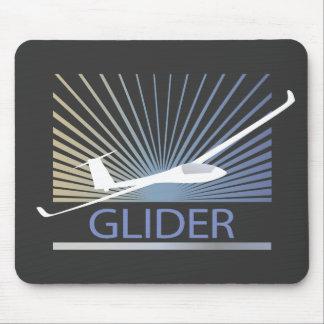 Glider Sailplane Aircraft Mousepads
