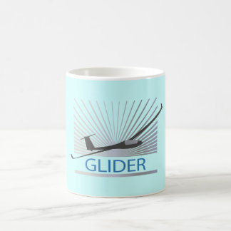 Glider Sailplane Aircraft Coffee Mugs