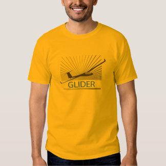 Glider Sailplane Aircraft T-shirts
