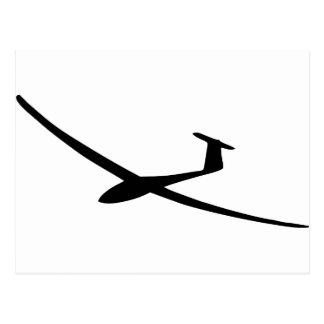 glider sailplane postcard