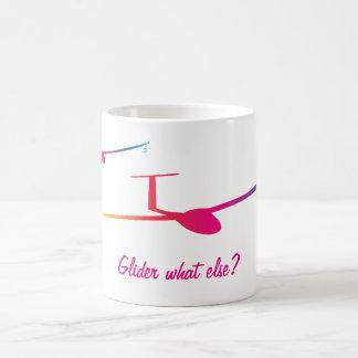 Glider what else? coffee mug