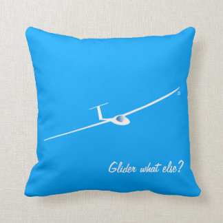 Glider - What else? Throw Pillow