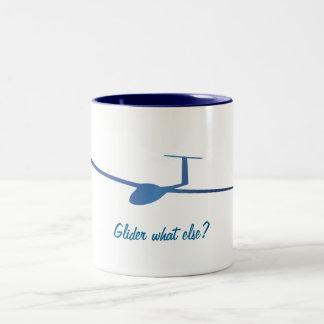 Glider what else? Two-Tone coffee mug