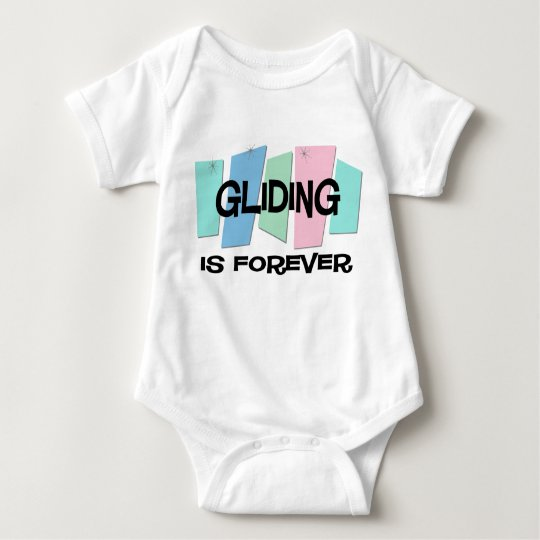 Gliding Is Forever Baby Bodysuit