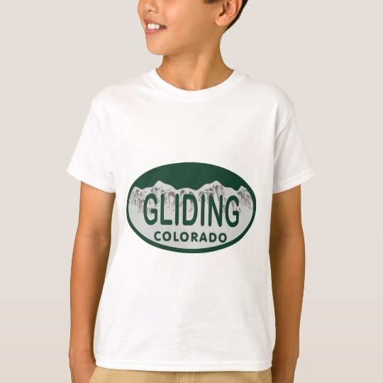 gliding license oval T-Shirt